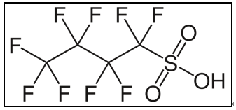Figure 1. PFBS chemical structure